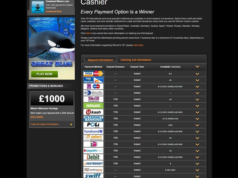 online casino winner online spielhalle